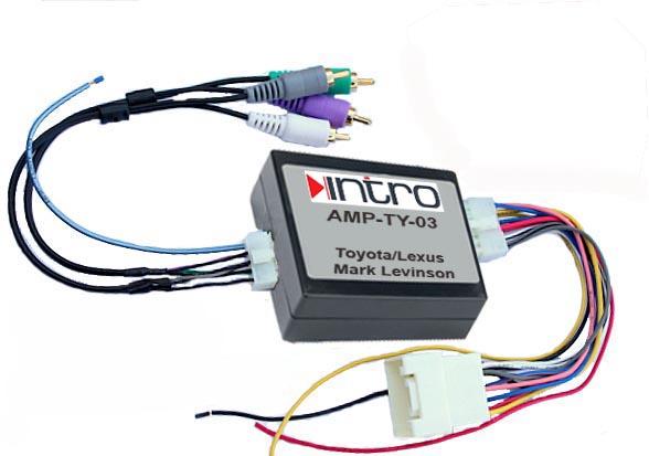 Адаптер подключения штатного усилителя Lexus (Mark Levinson)(Incar AMP-TY03)