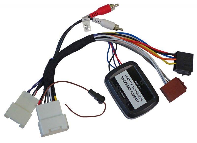 Адаптер подключения штатного усилителя Mitsubishi, Peugeot, Citroen(Incar AMP-MT01W)