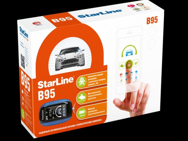 StarLine B95BT 2CAN+LIN GSM/GPS