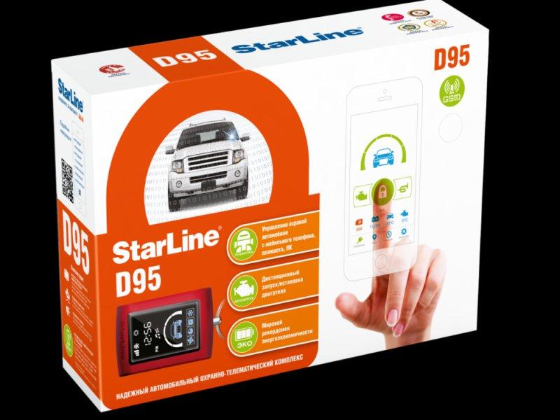 StarLine D95BT CAN+LIN GSM/GPS