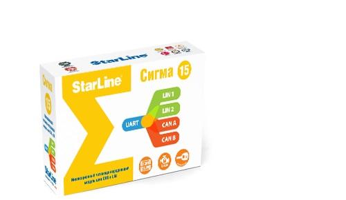 StarLine Сигма 15