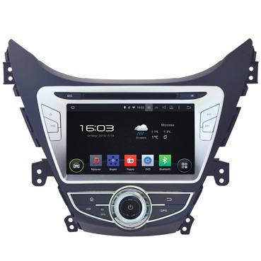Hyundai Elantra 2013-15, Incar AHR-2464 Android 4.4.4