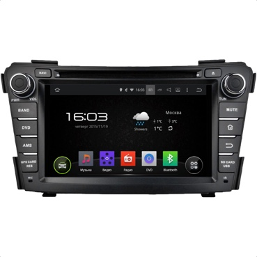 Hyundai i40, Incar AHR-2484 Android 4.4.4