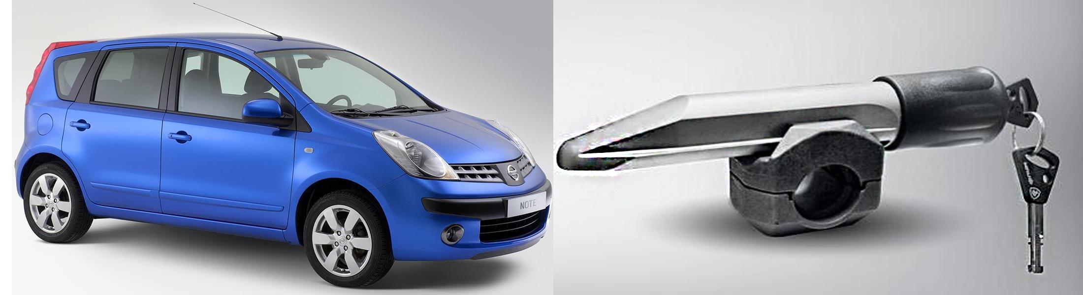 Nissan Note /2005-/М5 Элур, Гарант Блок Люкс 160.E/K