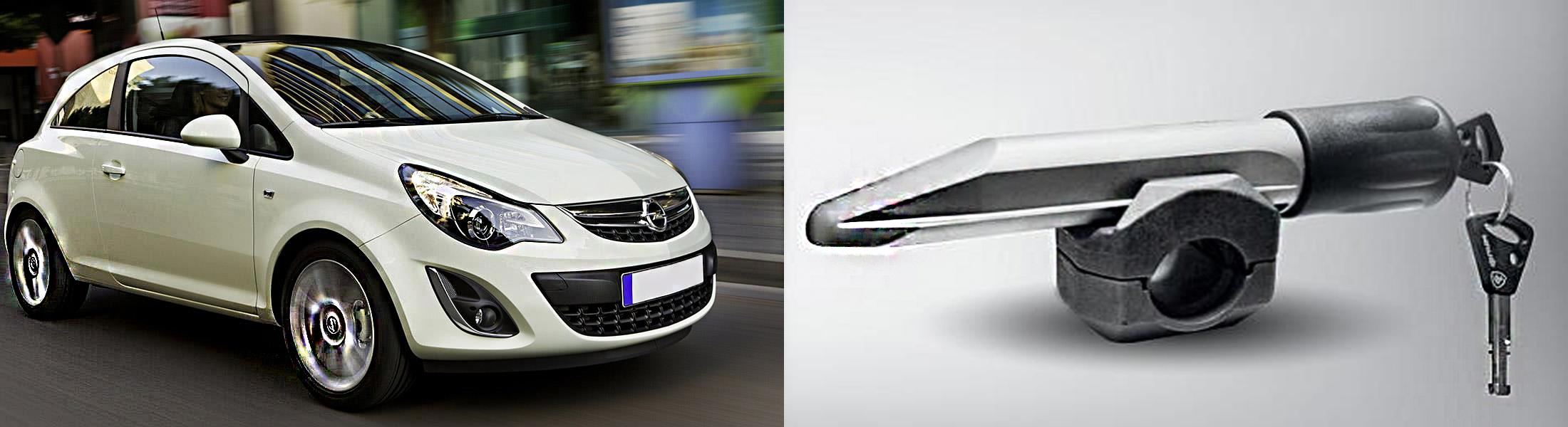 Opel Corsa /2011-/Элур, Гарант Блок Люкс 280.E