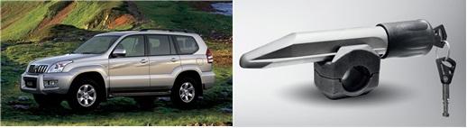 Toyota Land Cruiser Prado 3-е пок. Гарант Блок Люкс 286.E/f