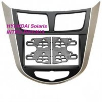 Hyundai Solaris 11+2Din(крепеж), Intro RHY-N19