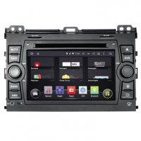 Toyota LC Prado 120, Incar AHR-2283 Android 4.4.4