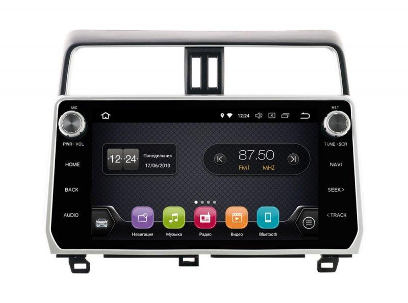 """Toyota LC Prado 17+ 10""""(Android 8.1), Incar TSA-2247"""