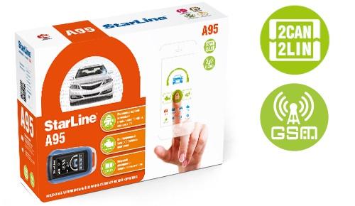 StarLine A95 BT 2CAN+2LIN GSM