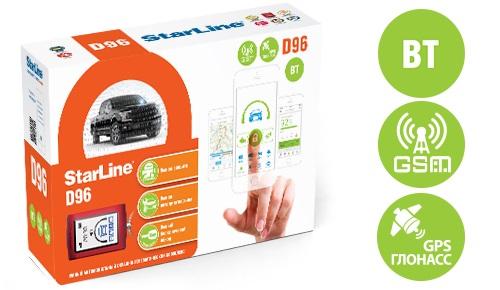 StarLine D96 BT 2CAN+2LIN GSM GPS