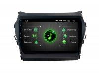 """Hyundai Santa Fe 2013-18 9"""" (Android 9) DSP, Incar DTA-2409"""