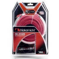 Nakamichi NK-WK28, кабельный набор 8Ga (4 канала)