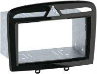 Peugeot 308, 408 2Din(салазки) Black (Рояльный лак), Intro RFR-N25