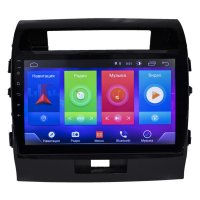 Toyota Land-Cruiser 200 2007-15 (Android 8.1) 10""