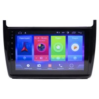 Volkswagen Polo 2009-19 Android 8.1 9""