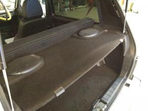 Нива 212140 Установка акустики в круг с изготовлением акустической полки.