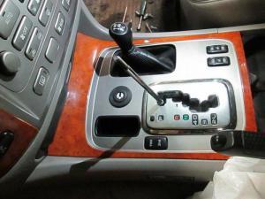 Установка мех. блокировки АКПП на Toyota LC 100