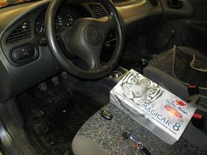 Установка сигнализации на Chevrolet lanos 2008г