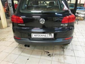 Установка камеры заднего вида на Volkswagen Tiguan