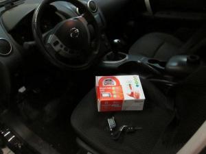 Установка сигнализации на Nissan QASHQAI