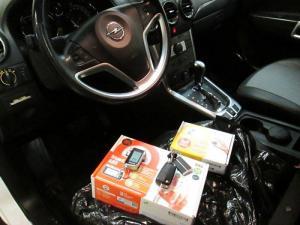 Установка автозапуска на Opel Antara